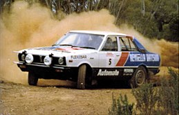 Datsport Rally Team 1980 - Barry Burns (Driver) and David Milne (Co-Driver) 1981 South Australian Rally Champions.jpg
