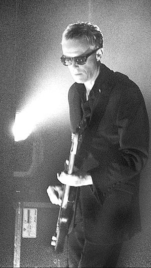Love and Rockets (band) - Co-founder David J on bass, pictured in 2006