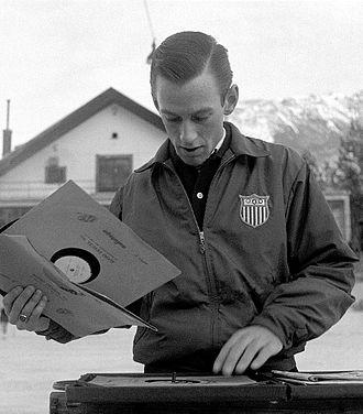 David Jenkins (figure skater) - David Jenkins at the 1956 Olympics