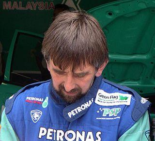 David Leslie (racing driver) British racing driver
