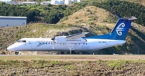 De Havilland Canada DHC-8-300 (ANZ Link) Wellington 06.jpg