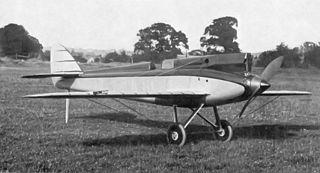 de Havilland DH.71 Tiger Moth aircraft