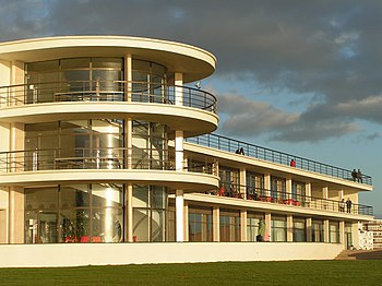 English: De La Warr Pavilion, Bexhill The newl...