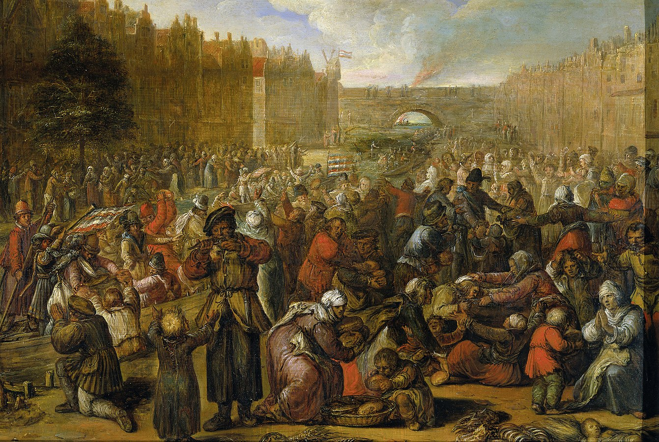 Distribution of Herring and White Bread at the Relief of Leiden, 3 October 1574
