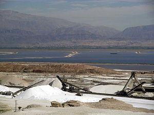 Israel Chemicals - Mineral extraction in the Dead Sea