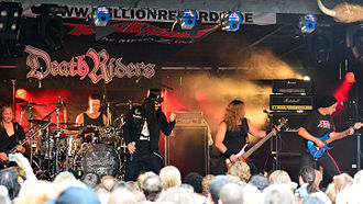 Deathriders - DeathRiders performing at the Headbangers Open Air 2014