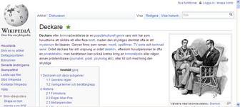 Wikipedia-sida