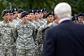 Defense.gov News Photo 100720-D-7203C-019 - U.S. and Korean troops from the 1st Heavy Brigade Combat Team and 210 Fires Brigade listen as Secretary of Defense Robert M. Gates speaks to them.jpg