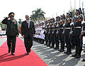Defense.gov News Photo 101011-F-6655M-017 - Secretary of Defense Robert M. Gates reviews the troops with Vietnamese Minister of Defense Gen. Phung Quang Thanh during a Guards of Honor.jpg