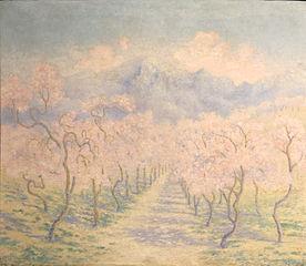 Almond trees, Balearic
