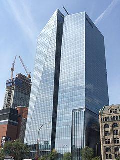 skyscraper in Montreal