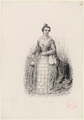 Delphine Ugalde as Elizabeth in 'Le songe d'une nuit d'été' by Ambroise Thomas - Gallica (archival).png