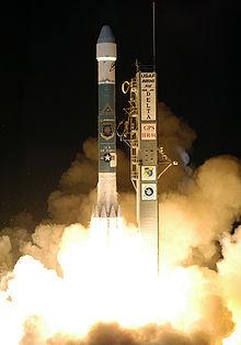 Rakieta z satelitą nawigacyjną
