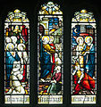 Derry St Columb's Cathedral North Aisle Window Saints Stephan and Peter 2013 09 17.jpg