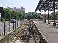 Diósgyőr villamos pályaudvar érkezési peron 2011-05-14.JPG
