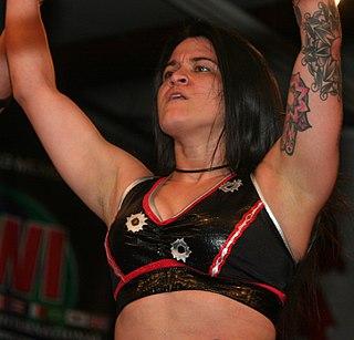 Diamante (female wrestler) American professional wrestler