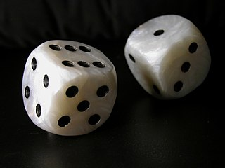 Biscuit (game) drinking game played with dice