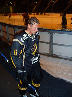Dick Tärnström Swedish ice hockey player