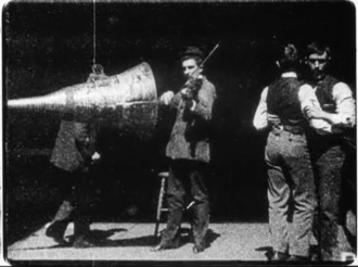 The Dickson Experimental Sound Film - Frame from restored version of The Dickson Experimental Sound Film (1894/95)