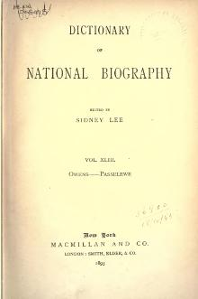 Dictionary of National Biography volume 43.djvu