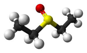 Diethyl sulfoxide - Image: Diethyl sulfoxide 3D balls