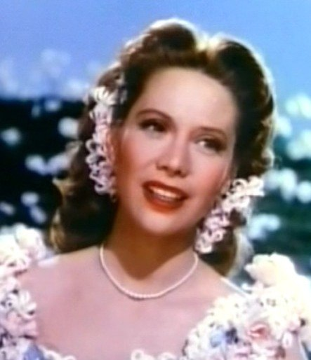 Dinah Shore in Till the Clouds Roll By cropped