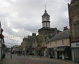 Dingwall centrum