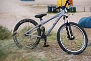 A simple dirt-bike.
