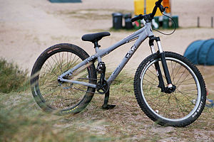 Mountain bike - A simple dirt jump bike.