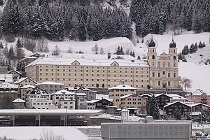 Disentis Abbey - Image: Disentis Kloster