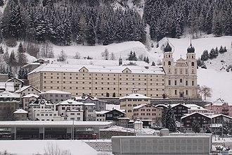 Disentis - Image: Disentis Kloster