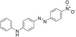 Chemical structure of Disperse Orange 1