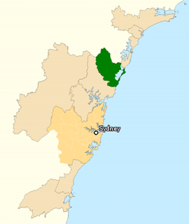 Division of Dobell Australian federal electoral division