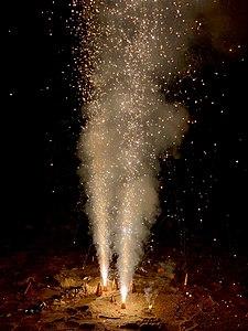 Diwali crackers at Vizag beach 1.jpg