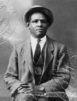 Dixie Kid - Passport photo of Dixie Kid from 1919