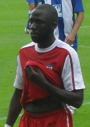 Djoumin Sangaré - Sangaré playing for York City in 2010
