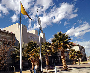 Doña Ana County, New Mexico - Image: Doña Ana County, New Mexico, Government Center 2014