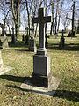 Dobbertin Klosterfriedhof Grabstein Margarethe von Behr Reihe 4 Platz 10 2012-03-23 235.JPG