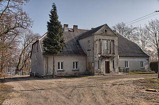 Dobieszewice Village in Kuyavian-Pomeranian Voivodeship, Poland