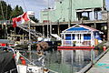 Docks and Houseboat at Jamie's Whaling Station - Tofino - Vancouver Island BC - Canada - 02.jpg
