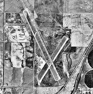 Dodge City Regional Airport - USGS 1991 orthophoto