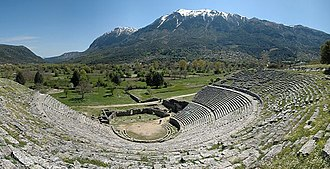 History of Greece - The ancient theatre of Dodona