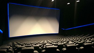 Dolby Cinema - This is the interior of a typical Dolby Cinema theatre located at the Vue Hilversum in Hilversum, Netherlands.