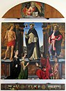 Domenico ghirlandaio e bottega, pala di san vincenzo ferrer, 1493-96, 01.JPG