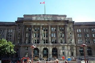Dominion Public Building building in Toronto, Canada