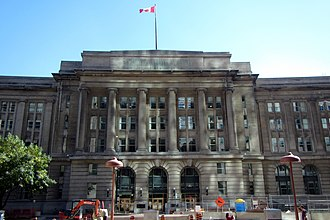 Dominion Public Building - Image: Dominion Public panoramio
