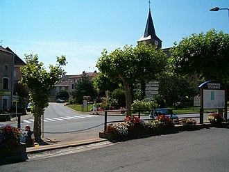Dompierre-les-Ormes - Image: Dompierre les Ormes France