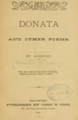 Donata and Other Poems (1881).png
