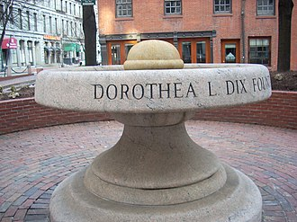 Dorothea Dix - Fountain for thirsty horses Dix gave to the city of Boston to honor the MSPCA
