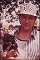 Doug Mcclain with His Dog at the Tennessee Consolidated Coal Company First Annual Picnic at a Tennessee Valley Authority Lake near Jasper and Chattanooga, Tennessee 08-1974 (3906449447).jpg